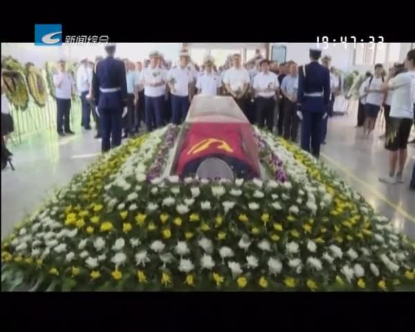 含泪送英雄 云和消防战士俞旺遗体告别仪式今日举行