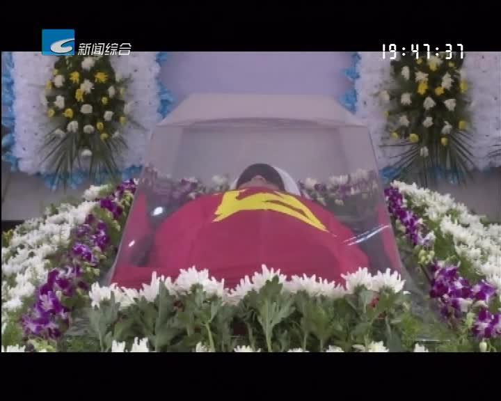 """消防英雄俞旺 """"魂归故里""""    云和人民全城送别"""
