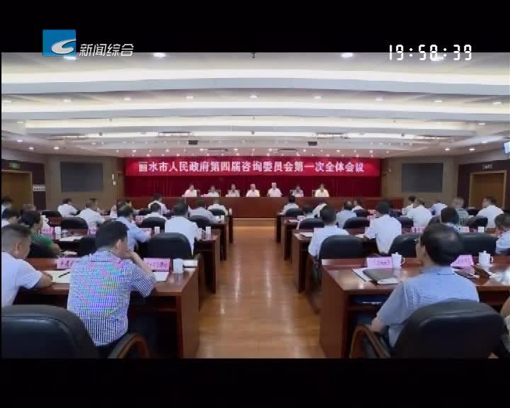 市政府第四届咨询委员会召开第一次全体会议