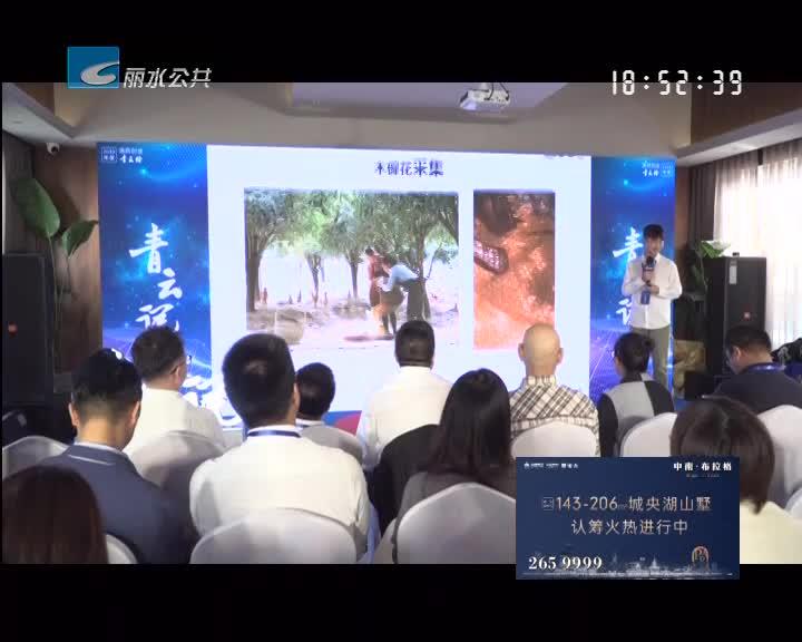 """""""青云说""""首次登陆丽水 分享""""文旅品质""""与""""绿色经济"""""""