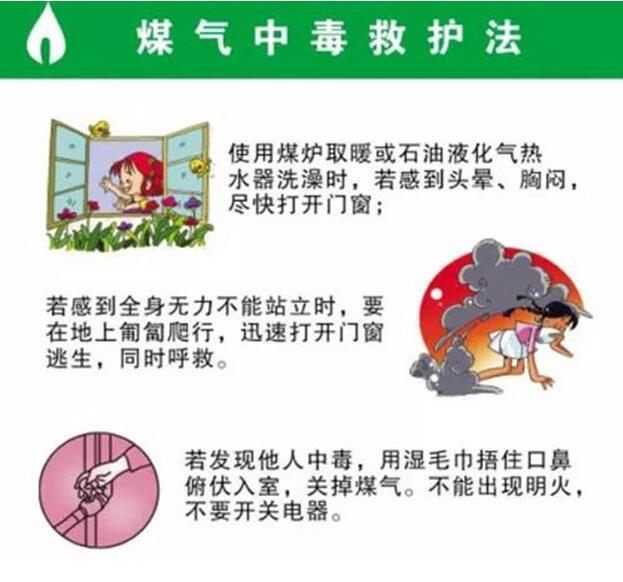 冬季如何预防煤气中毒事件发生?