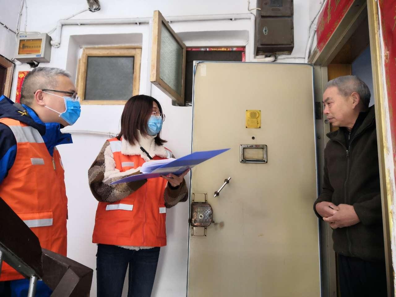 党员带头防控疫情 ——丽水市人防办机关党员积极参与社区疫情防控