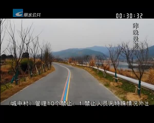 【丽水十大最美绿道】瓯江绿道先行段:风景如画 绿意盎然