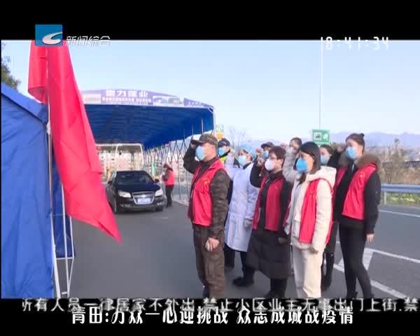 【风采】青田:万众一心迎挑战  众志成城战疫情