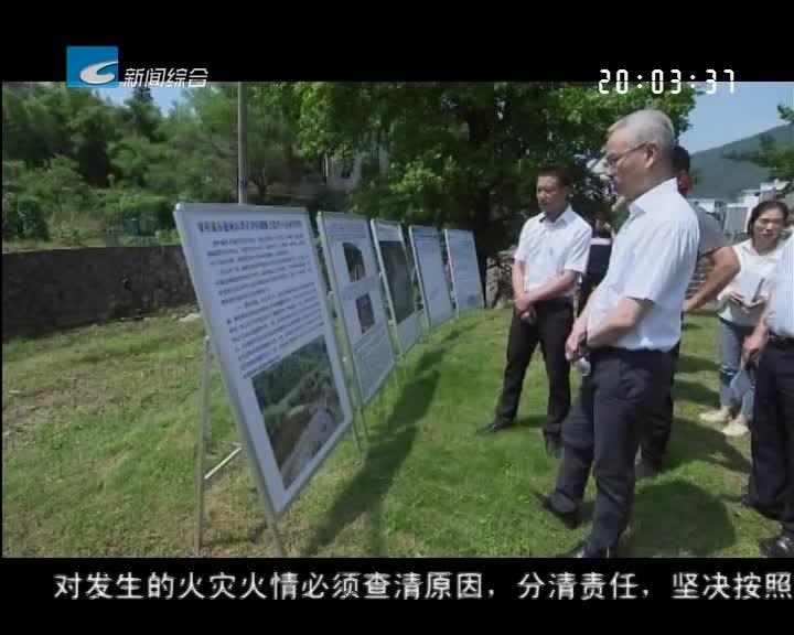 吴晓东在检查防汛工作时强调:强化汛期防范 确保平稳安全度汛