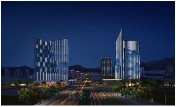 """丽水南城未来要""""亮""""了!25幢地标高楼夜景炫目,媲美大都市!"""