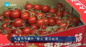"""清凉一夏:气温节节攀升 """"惹火""""夏日经济"""