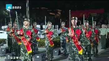 """处州国防:丽水新兵获赠""""从戎之剑"""" 立下铮铮誓言"""